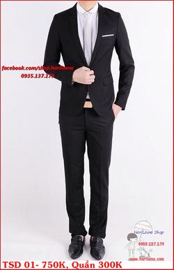 Ảnh số 31: Áo Vest Nam, Áo Vest Nam Style Hàn, Vest Cưới, Vest TSD MS01 - Giá: 750.000