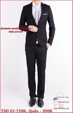 Ảnh số 33: Áo Vest Nam, Áo Vest Nam Style Hàn, Vest Cưới, Vest TSD MS01 - Giá: 750.000