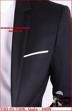 Ảnh số 34: Áo Vest Nam, Áo Vest Nam Style Hàn, Vest Cưới, Vest TSD MS01 - Giá: 750.000