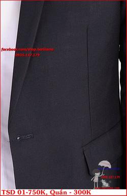 Ảnh số 35: Áo Vest Nam, Áo Vest Nam Style Hàn, Vest Cưới, Vest TSD MS01 - Giá: 750.000
