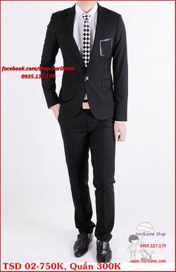 Ảnh số 42: Áo Vest Nam, Áo Vest Nam Style Hàn, Vest Cưới, Vest TSD MS02 - Giá: 750.000