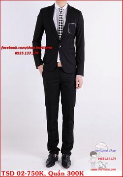 Ảnh số 43: Áo Vest Nam, Áo Vest Nam Style Hàn, Vest Cưới, Vest TSD MS02 - Giá: 750.000
