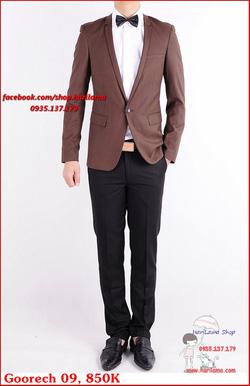Ảnh số 95: Áo Vest Nam, Áo Vest Nam Style Hàn, Vest Cưới, Vest Goorech MS09, 850K - Giá: 850.000