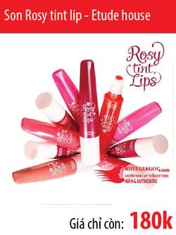 Ảnh số 7: Son Rosy tint lip - Etude - Giá: 180.000
