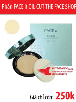 Ảnh số 20: Phấn FACE it OIL CUT THE FACE SHOP - Giá: 250.000