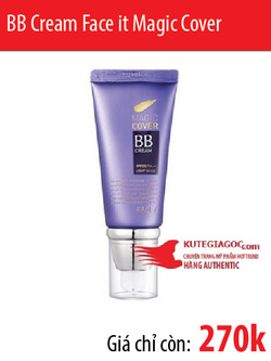 Ảnh số 26: Face it Magic Cover BB Cream SPF20/PA++ - Giá: 270.000