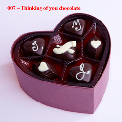 Ảnh số 11: Thinking of you chocolate - Giá: 220.000