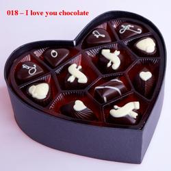 Ảnh số 33: I love you chocolate - Giá: 330.000