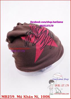 Ảnh số 17: Mũ Nam, Mũ Len Nam, Mũ Nỉ Nam, Mũ Khăn Nam, Mũ Nam Hàn Quốc - Giá: 100.000