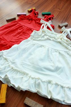 Ảnh số 2: Váy xòe 2 dây - Giá: 1.000