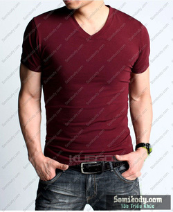 Ảnh số 51: áo thun cổ tim - Giá: 120.000