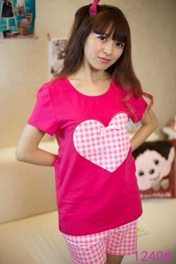 Ảnh số 1: bộ đồ mặc nhà pink - Giá: 210.000