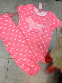 Ảnh số 11: bộ đồ mặc nhà pink - Giá: 175.000