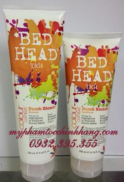 Ảnh số 65: Gộ xả dưỡng màu tóc nhuộm level 6 trở lên Dumb Blonde 250mll- 200ml - Giá: 550.000