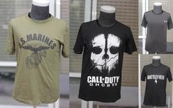 Ảnh số 93: Áo phông GHOST batterfiel 4, us marines.... - Giá: 250.000