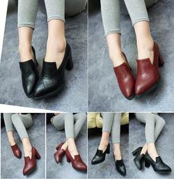 Ảnh số 29: Giày loafer ca rô 7 phân- 270.000VNĐ - Giá: 270.000
