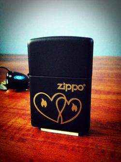 Ảnh số 20: Hearts Zippo Lighter - Giá: 650.000