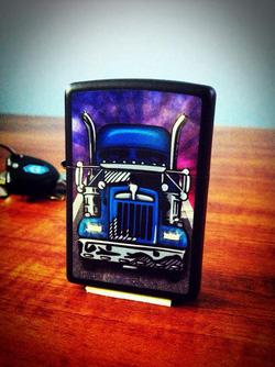 Ảnh số 10: Zippo Truck Head On Black Matte - Giá: 1.000.000