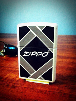 Ảnh số 4: Diagonal Design Zippo Lighter - Giá: 650.000