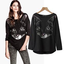 Ảnh số 4: Áo thun mèo, mẫu Âu - Giá: 260.000
