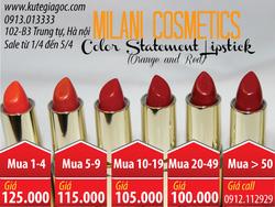 Ảnh số 87: Son MILANI Color Statement Lipstick - Giá: 95.000