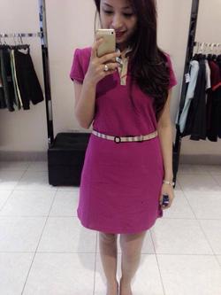 Ảnh số 65: Váy BBR kèm belt - Giá: 500.000