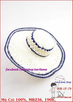 Ảnh số 44: Mũ Đi Biển, Mũ Rộng Vành - Harilama Shop - Giá: 190.000