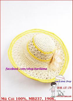 Ảnh số 45: Mũ Đi Biển, Mũ Rộng Vành - Harilama Shop - Giá: 190.000