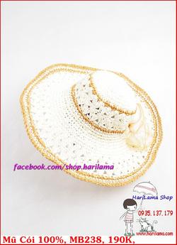 Ảnh số 46: Mũ Đi Biển, Mũ Rộng Vành - Harilama Shop - Giá: 190.000