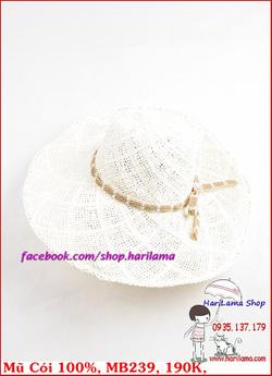 Ảnh số 47: Mũ Đi Biển, Mũ Rộng Vành - Harilama Shop - Giá: 190.000