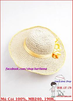 Ảnh số 48: Mũ Đi Biển, Mũ Rộng Vành - Harilama Shop - Giá: 190.000