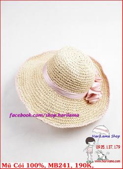 Ảnh số 49: Mũ Đi Biển, Mũ Rộng Vành - Harilama Shop - Giá: 190.000