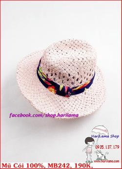 Ảnh số 50: Mũ Đi Biển, Mũ Cói - Harilama Shop - Giá: 190.000