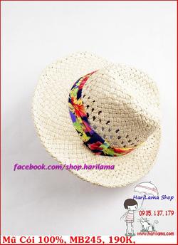 Ảnh số 53: Mũ Đi Biển, Mũ Cói - Harilama Shop - Giá: 190.000