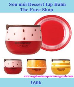 Ảnh số 13: Son môi Dessert Lip Balm The Face Shop - Giá: 160.000