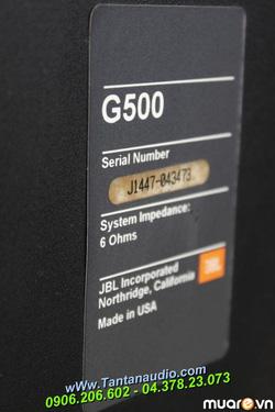 Ảnh số 54: Loa JBL G500 - Giá: 8.000.000