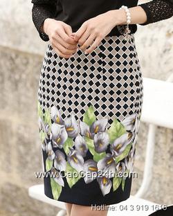 Ảnh số 29: Chân váy họa tiết Hàn Quốc SA14SK02 - Giá: 1.200.000