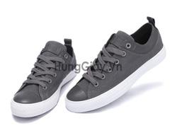 Ảnh số 87: Giày Converse viền da - Giá: 500.000