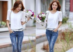 Ảnh số 79: SM930: White, Yellow/ F - Áo sơ mi nữ công sở Hàn Quốc - Giá: 1.320.000