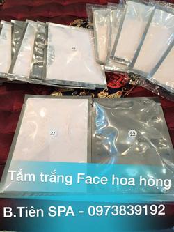 Ảnh số 8: Tắm trắng Face Hoa Hồng huyết thanh collagen - Giá: 180.000