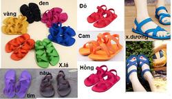 Ảnh số 73: Giày sandals Gucci (gi&agravey nhựa đi mưa) - 160.000VND - Giá: 160.000