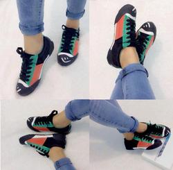 Ảnh số 77: Giày bata phối màu xanh lá -250.000VNĐ - Giá: 250.000