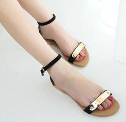 Ảnh số 67: Giày sandal đế bệt kim loại - Giá: 200.000