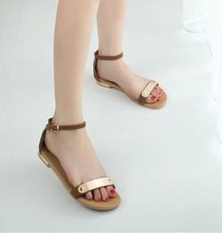 Ảnh số 68: Giày sandal đế bệt kim loại - Giá: 200.000