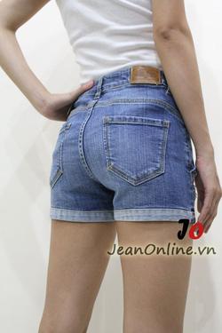 Ảnh số 48: Short jean nữ rách - M6054. Size 1, 3, 5, 7 - Giá: 195.000