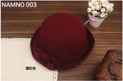 Ảnh số 33: mũ nấm nơ màu đỏ đu - Giá: 220.000