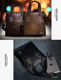 Ảnh số 2: Túi xách da cao cấp Feecanoo - Giá: 1.200.000