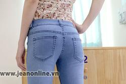 Ảnh số 70: Skinny Mango xếp ly - 2493. Size 26, 27, 28, 29, 30 - Giá: 245.000