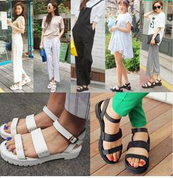 Ảnh số 66: Giày sandals 2 quai ngang verson 4 - 250k - Giá: 250.000