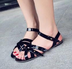 Ảnh số 26: Giày sandals chiến binh chéo dây - Giá: 230.000